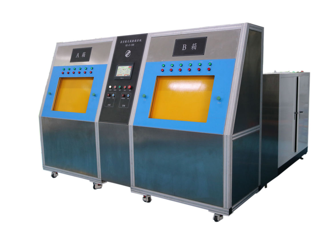 Two Chamber Vacuum Helium Leak Testing Equipment for Automotive Air Conditioning Components
