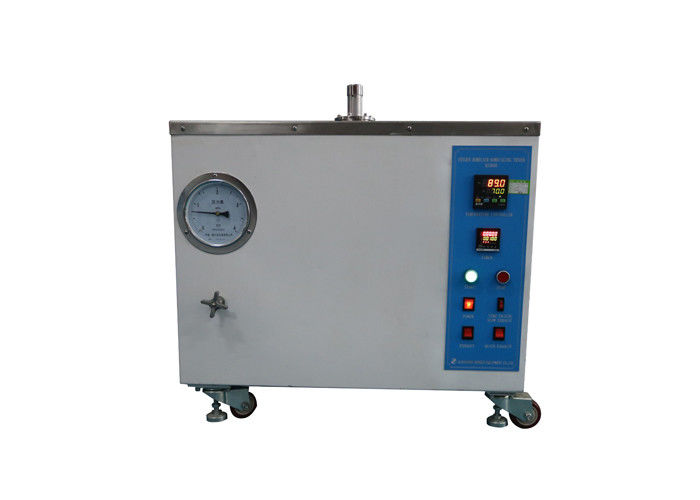 Oxygen / Air Bomb Aging Test Chamber Cable Testing Equipment Easy Operation Stainless Steel Test Tank